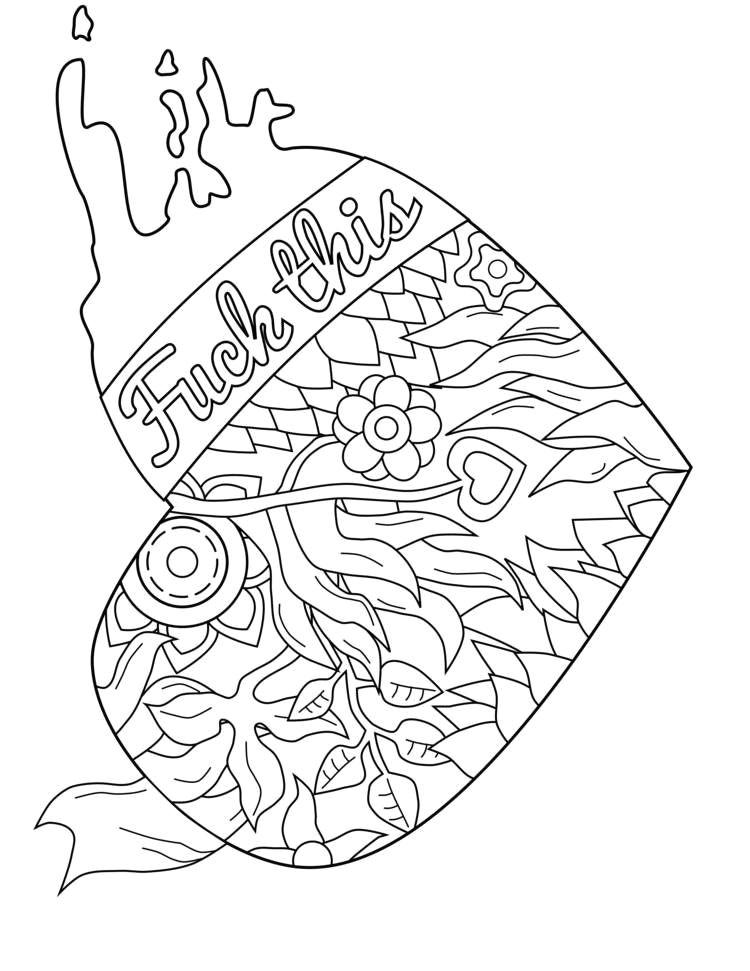 marijuana coloring pages best of swear word coloring page swearstressaway ideas weed coloring pages of marijuana