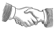 antique images free images of hands black and white handshake illustrations shaking hands drawing