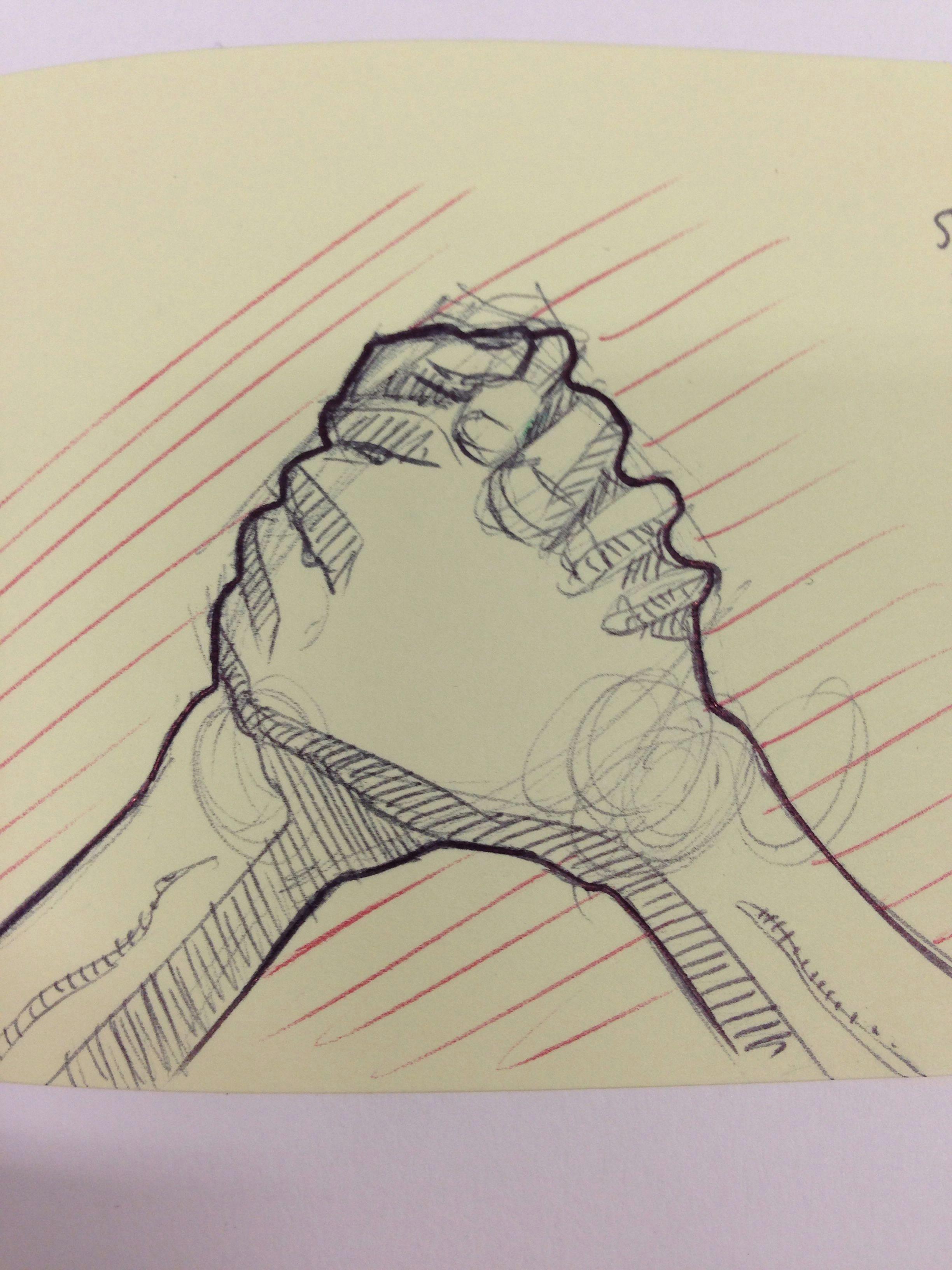 anatomy of a handshake ballpoint sketch jack darby jaspe anatomie bras