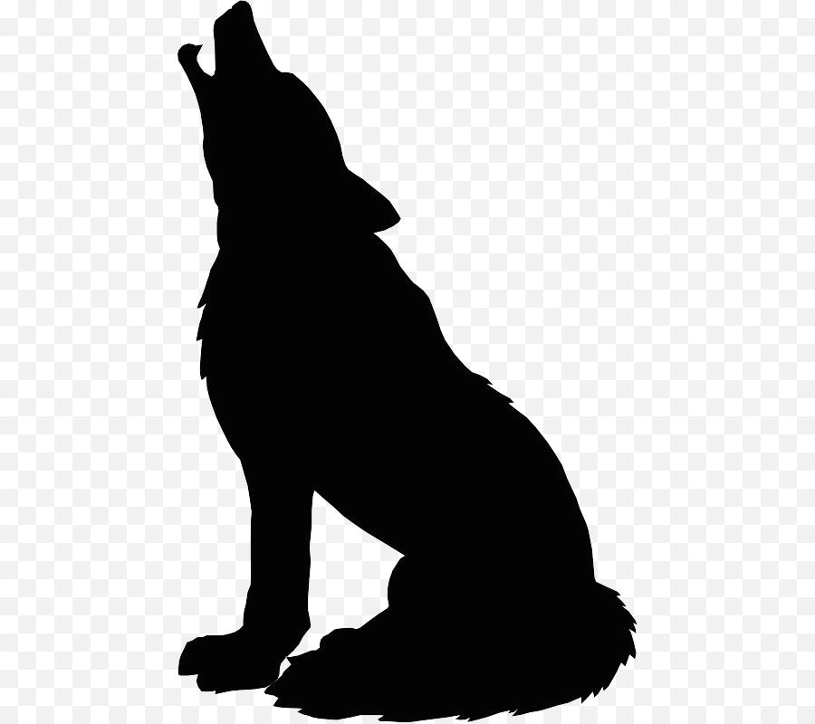 gray wolf silhouette drawing clip art wolf head silhouette