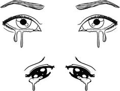 includes steps how to draw crying eyes step 6 realistic eye drawing drawing tips