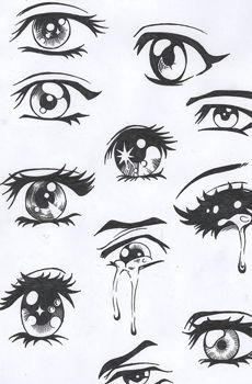 eyes large eyes more easily express communicate a broad range of human emotions cartoon eyes drawing