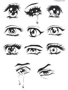 Drawings Of Anime Eyes Crying 77 Best Art Inspiration Eyes Images Manga Drawing Drawing