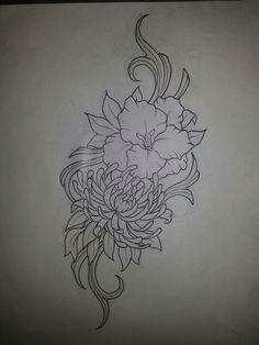august and november birth flower gladiolus flower tattoos narcissus tattoo daffodil tattoo birth