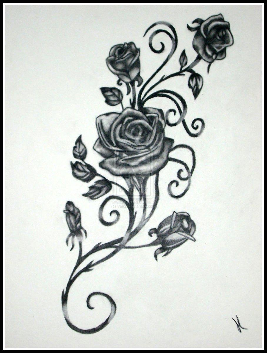 bildergebnis fur black rose and butterfly tattoo