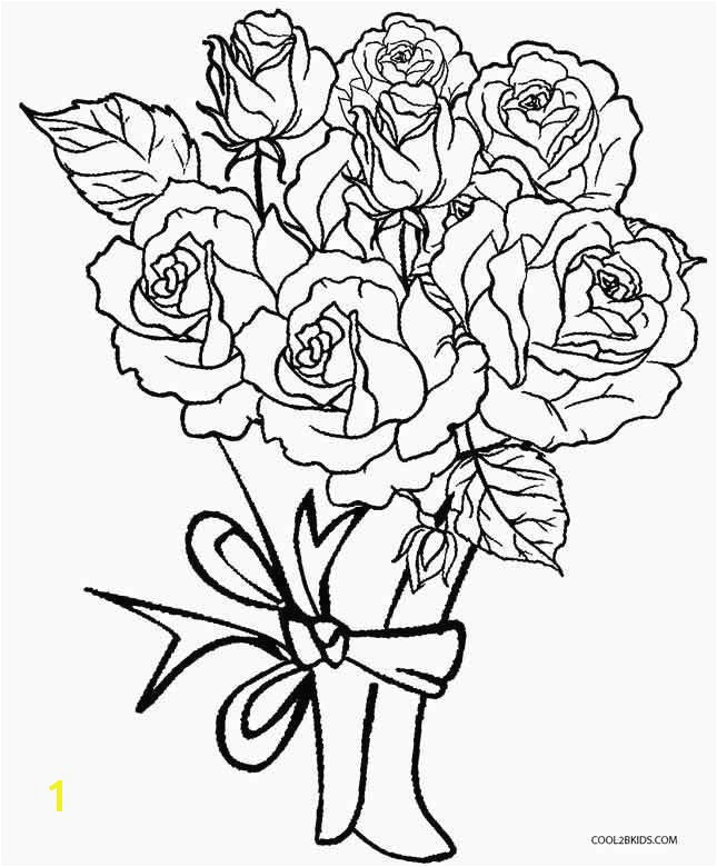 rose coloring page best s s media cache ak0 pinimg originals 89 0d 6b free coloring portrait