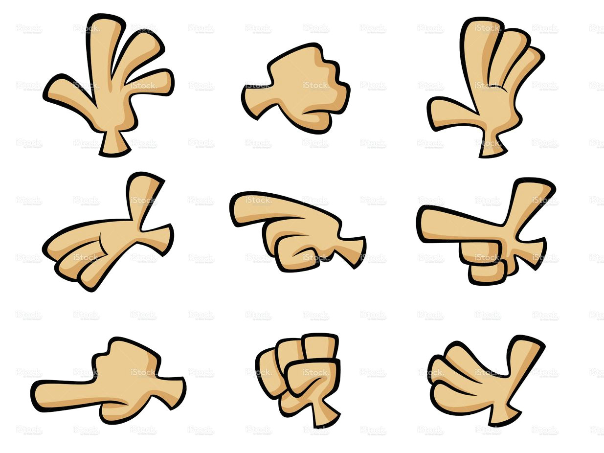 cartoon hands stock vector art 9997972 istock