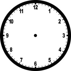 clock template face template blank clock faces clock clipart math clipart