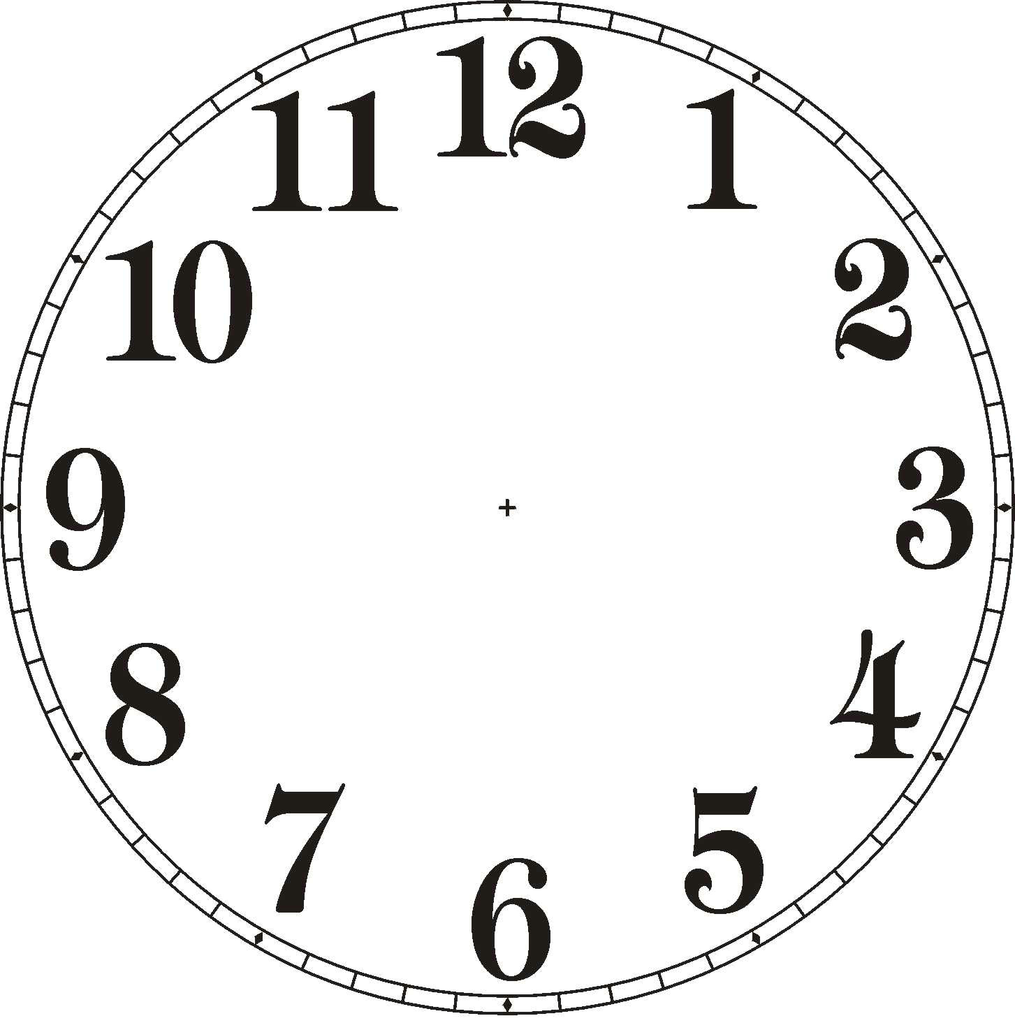 clocks clipart with no hands clipart library