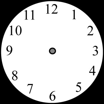 clock face without hands clip art clock face without hands image