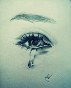 eyes drawing crying eyes pencil sketch realistic eye sew elegance diy eye