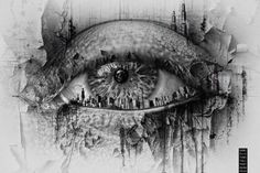 inside eye horror photography art photography eye tattoos eye art art drawings