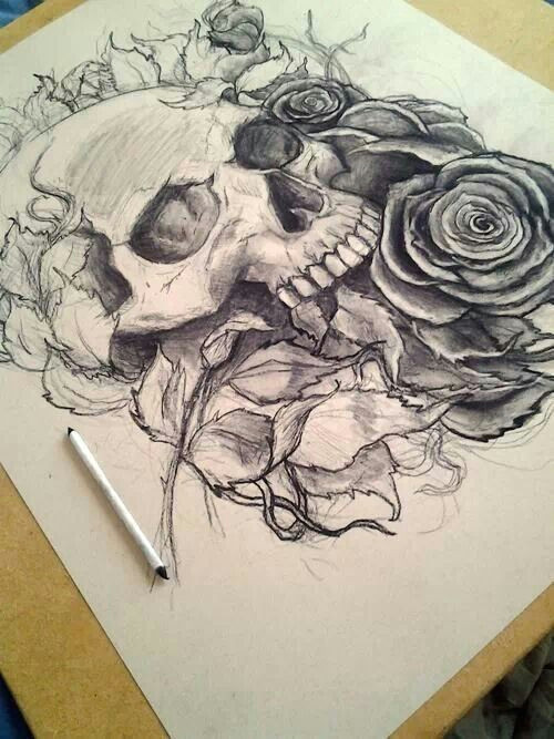 living dead drawing
