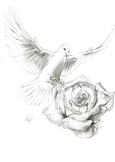 realistic dove drawing clipartxtras rose drawing pencil dove drawing pencil drawings new