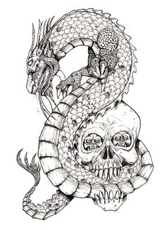 Drawings Of Dragons and Skulls 78 Best Chinese Dragons Images Dragon Tattoo Designs Drawings