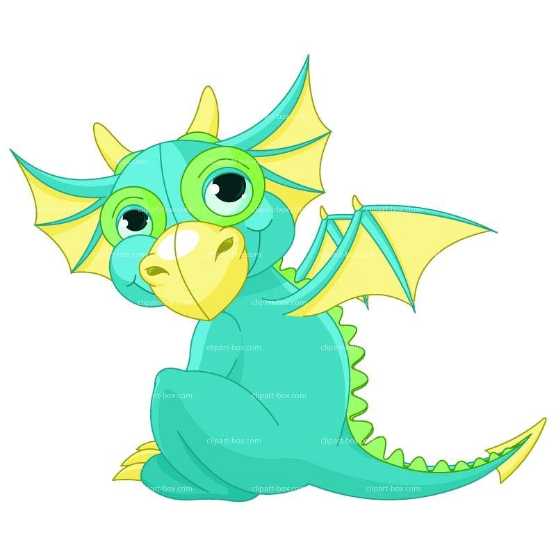 cute dragon clipart baby dragon royalty free vector design www clipart box com