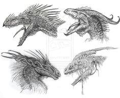 dragon head designs