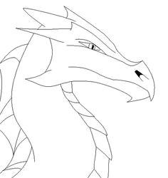 istarian dragon split lip head template by firedragon97 deviantart com on deviantart