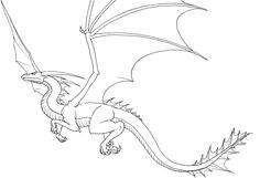 flyingdragon by chiroookami simple dragon drawing easy dragon drawings dragon head drawing easy