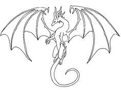 simple dragon drawing easy dragon drawings easy drawings dragon line dragon head