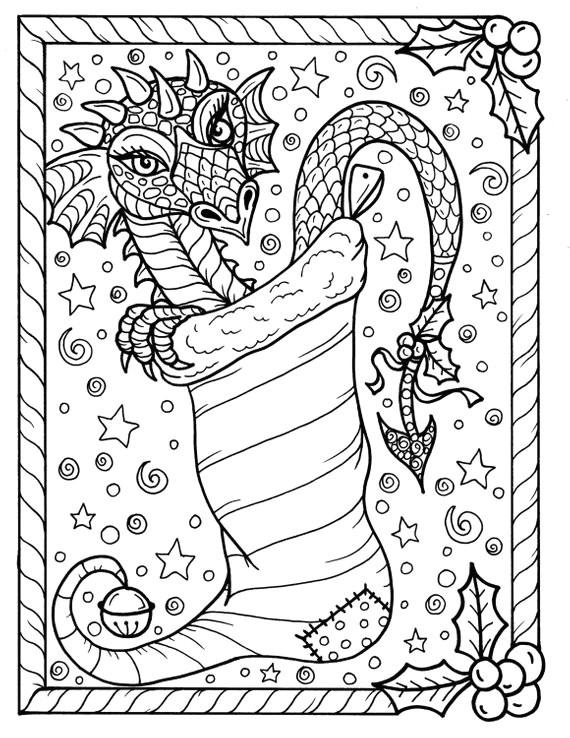 christmas dragon winter christmas christmas colors xmas fuzzy posters dragon coloring