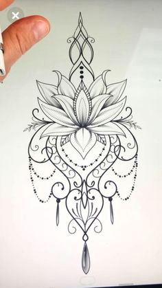 mandala design tattoo mandalatattoo