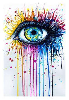 rebel6 paintings of eyeseyes