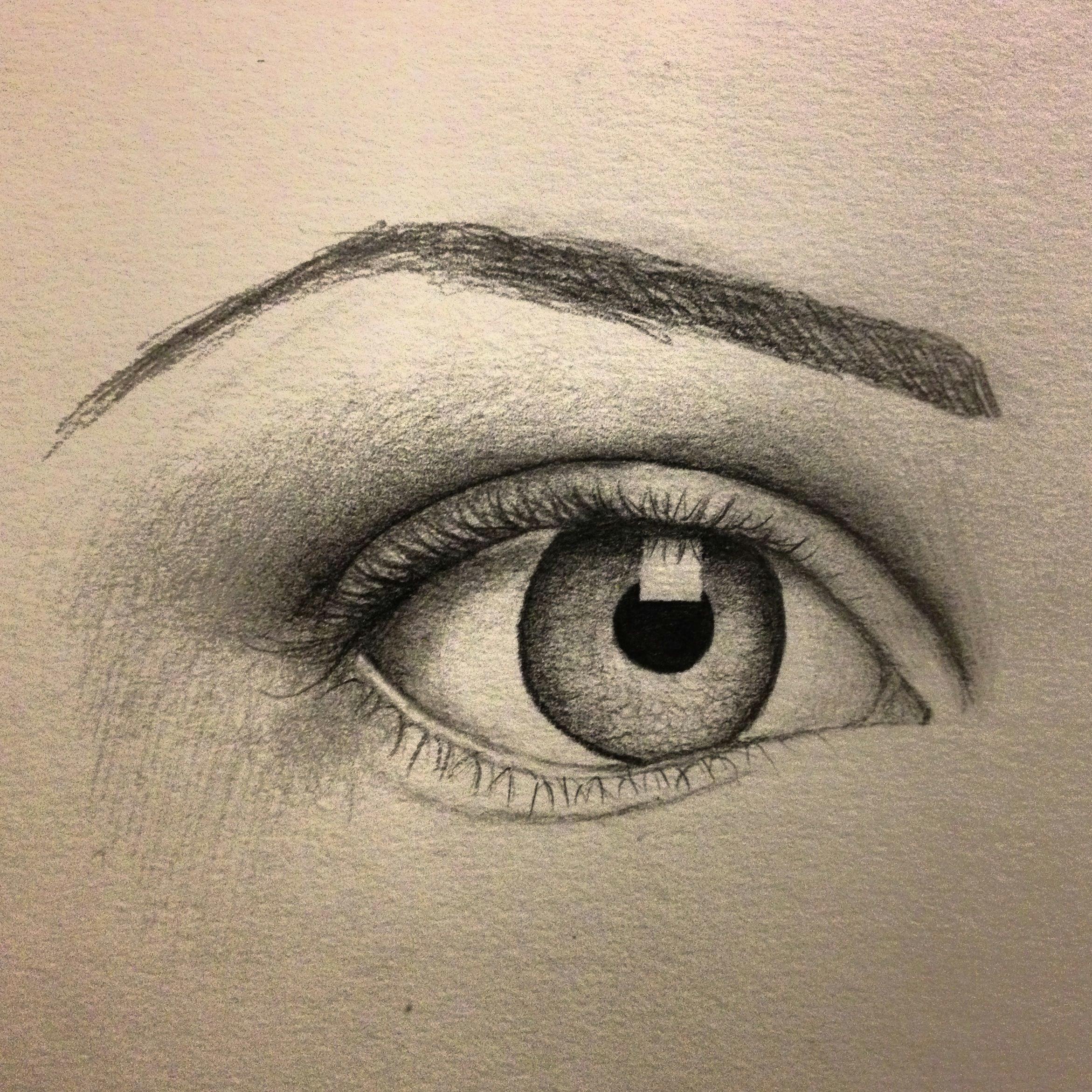 eye sketch artist pamela white