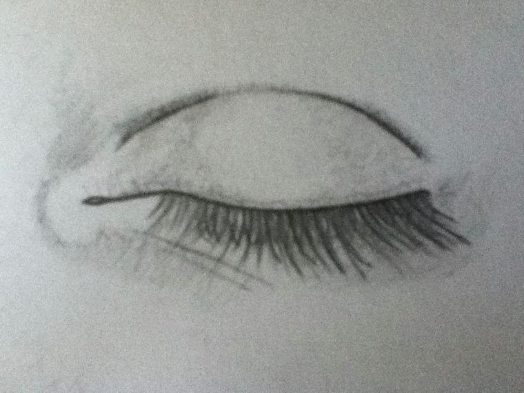 closed eyes drawings closed eye i need this art