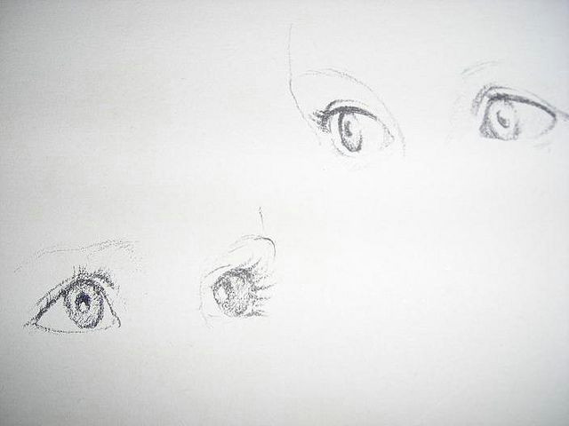 today s drawing class drawing children eyes by nicki fitzgerald