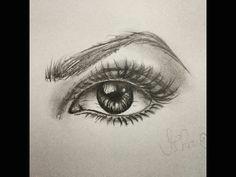 como desenhar olho realista passo a passo