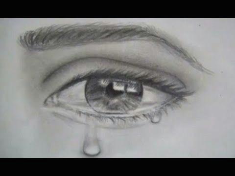 como dibujar ojos y lagrimas dibujar un ojo realista llorando youtube