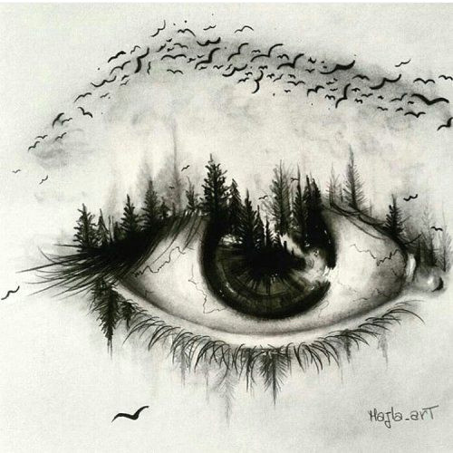surrealistic eye by majla art check out their instagram a shared by kitslam youtube instagram facebook