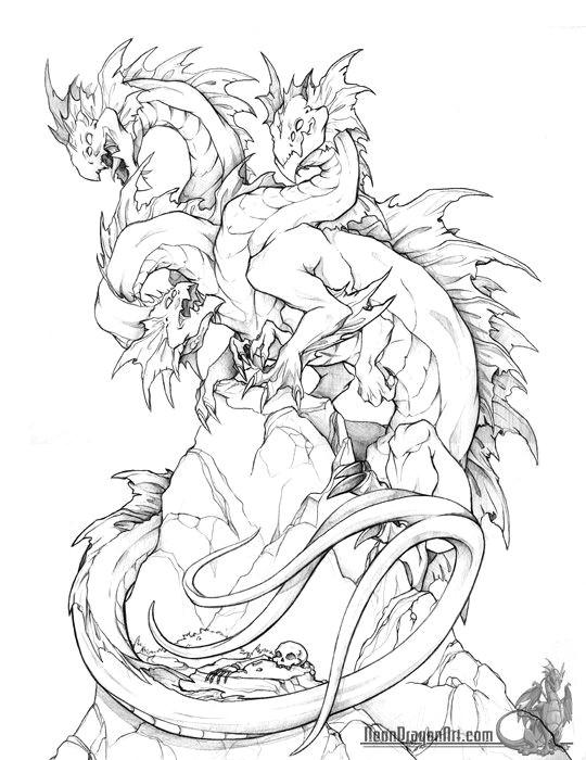 neondragonart com fantasy art dragons8