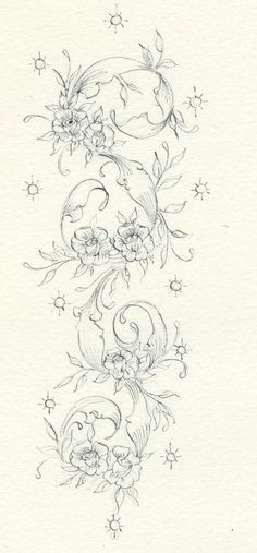 enchanting embroidery a pattern flourishes d encre line art floral embroidery patterns