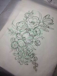 flower tattoo drawing tumblr google search