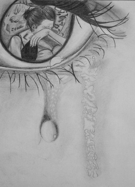 sad girl drawings tumblr google search