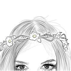 imagen de outline drawing and art roni fintz a tumblr girls a