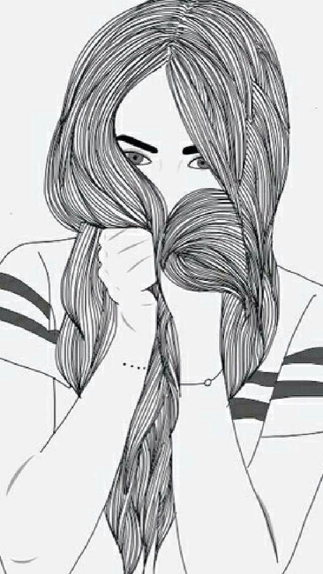 Drawings Of Girls Tumblr Pin by Lineirya On Drawing Art Pics Tumblr Outline Tumblr