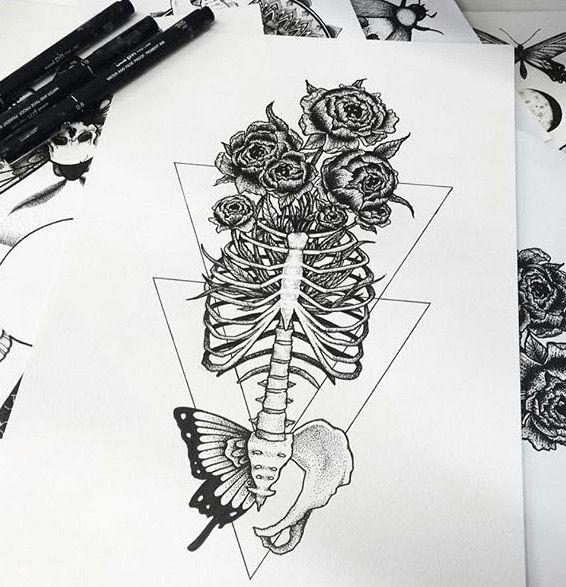 tattoo sketches tag photo the artist artwork ps drawings beauty art tattoo ideas bones