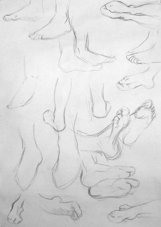 life drawing drawing hands feet by hester berry at www accessart org uk