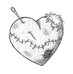 afbeeldingsresultaat voor tattoo hand drawings broken heart tattoo broken heart art broken heart images