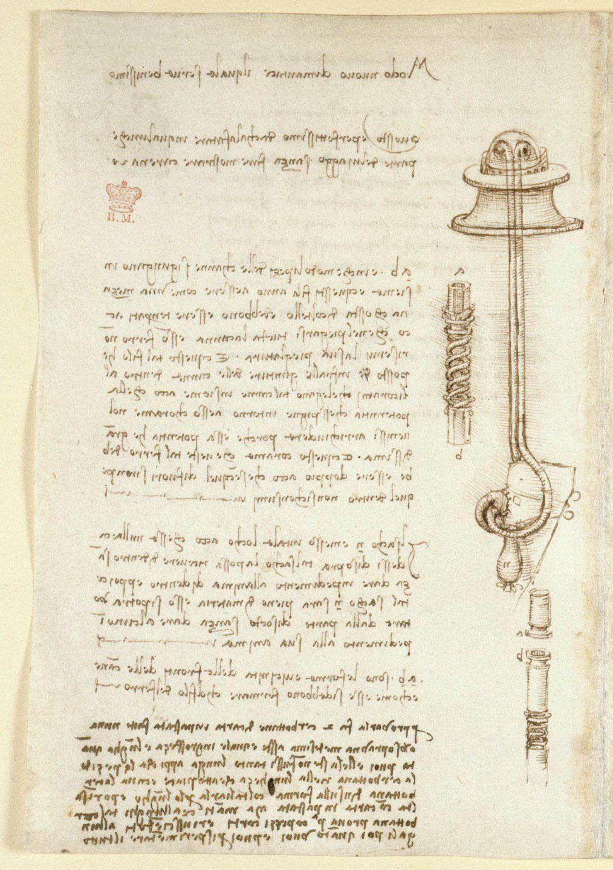 leonardo da vinci s notebook codex arundel created c 1478 1518