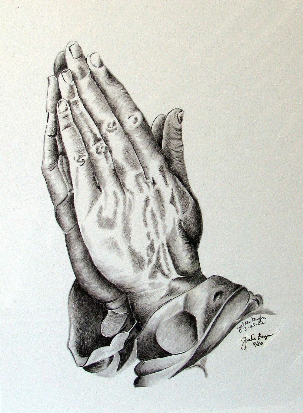 pix for jesus praying hands drawing