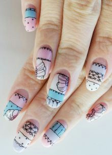 intricate hand drawn nails japanese nail art how to draw hands nail polish