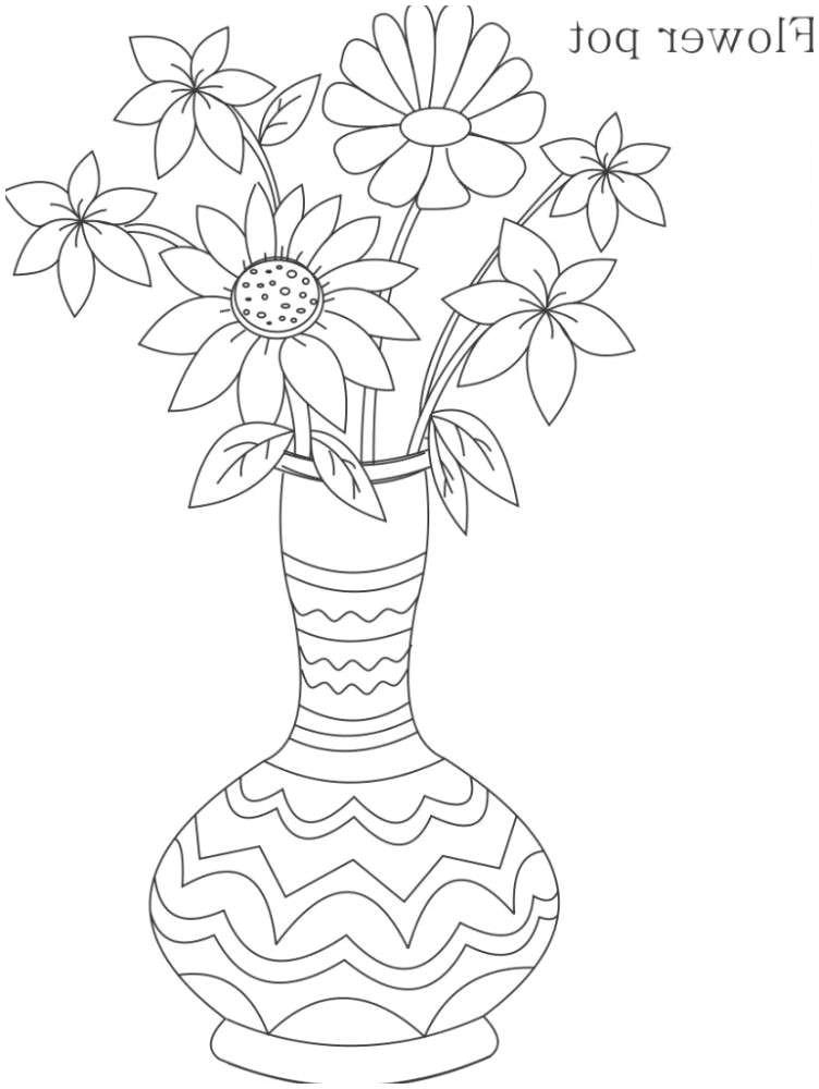 vases sketch flower vase i 0d simple flower drawings