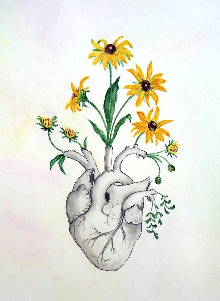 primavera flores poesia cor a a arte amor drawings of hearts