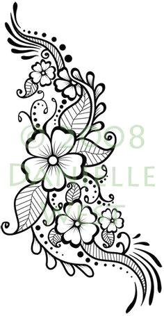 flower henna tattoo design stencil henna tattoo designs mehndi