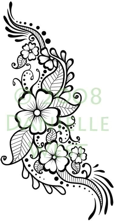 henna tattoo designs mehndi designs henna designs drawing flower design drawing henna
