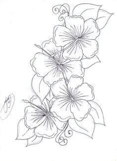 hawaiian flower drawing hibiscus drawing hawaiin flower tattoo hibiscus flower tattoos hawaiian